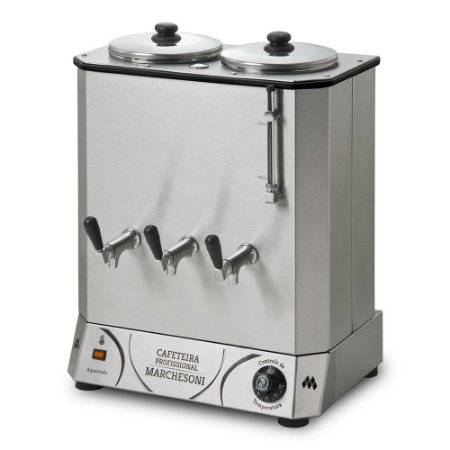 CF 4.12 Cafeteira Elétrica Profissional 20 Litros 2 Reservatórios Marchesoni