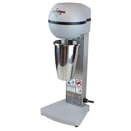 BMS-N Batedor de Milk Shake com Copo Inox e 1 Haste Skymsen