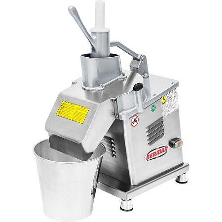 BM124NR Processador de Alimentos Industrial 6 Discos Bermar