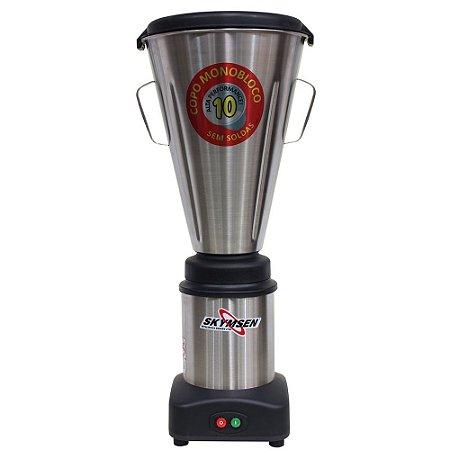LS-10MB-N Liquidificador Comercial Inox 10 Litros Skymsen