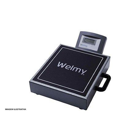 Balança Eletrônica Portátil 200 kg com Bateria Interna Welmy