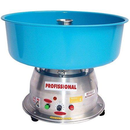 Máquina de Algodão Doce Clean Bivolt Profissional Ademaq Azul
