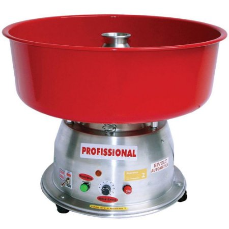 Máquina de Algodão Doce Clean Bivolt Profissional Ademaq Vermelho
