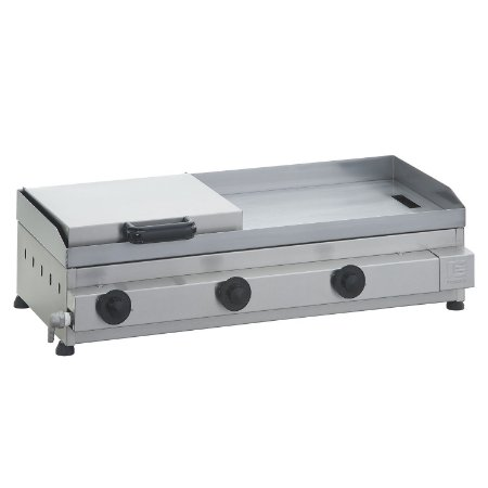 SCGP 80 Sanduicheira a Gás 80 x 40 cm com Prensa Linha Prata 3 Queimadores Edanca