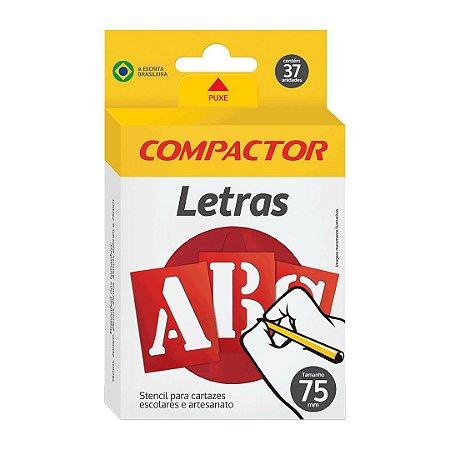 LETRAS VAZADAS ABC 75MM - COMPACTOR