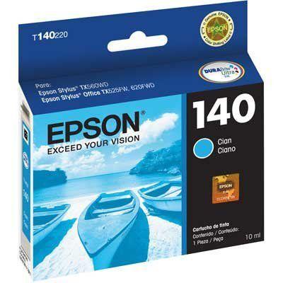 CARTUCHO EPSON T140220AL CIANO - 10ML