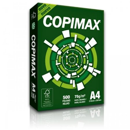 PAPEL COPIMAX A4 210MMX297MM - 500 FLS