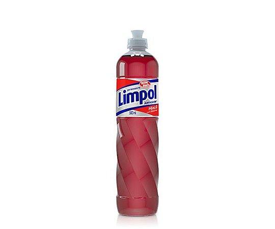 DETERGENTE LIMPOL MAÇÃ - 500ML