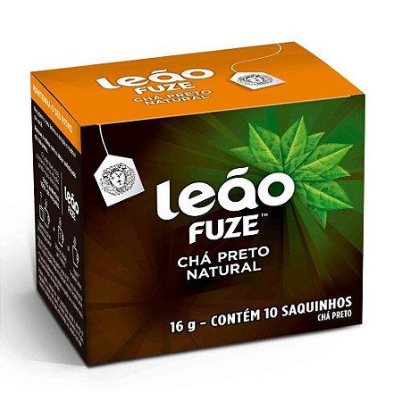 CHÁ PRETO NATURAL C/10 SAQUINHOS - LEÃO FUZE
