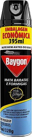 INSETICIDA BAYGON MATA BARATAS E FORMIGAS AEROSSOL - 395ML