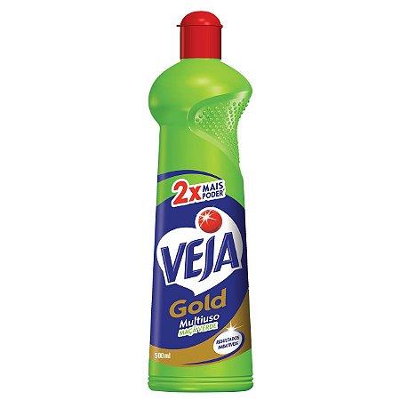 VEJA GOLD MULTIUSO MAÇÃ VERDE SQUEEZE - 500ML
