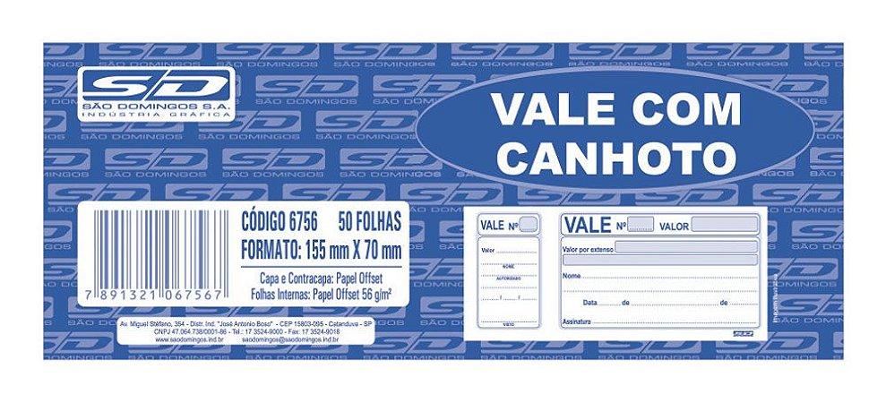 VALE COM CANHOTO 50 FLS - SÃO DOMINGOS