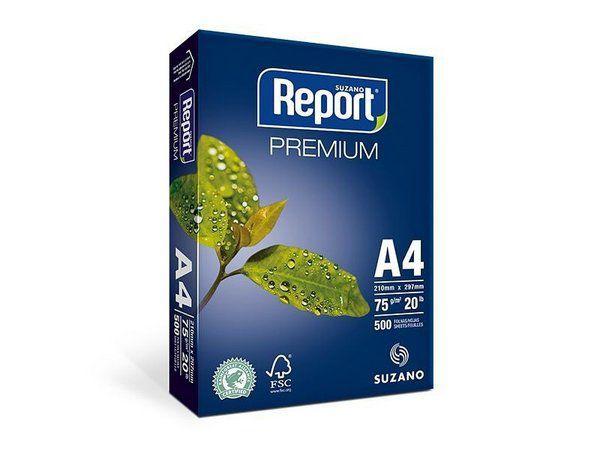 PAPEL REPORT A4 210MMX297MM PREMIUM - 500 FLS