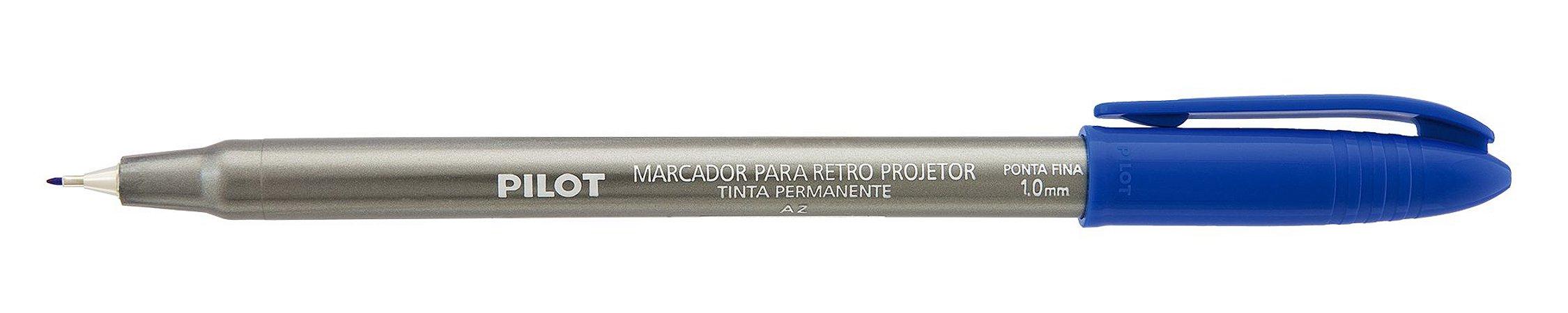 MARCADOR PARA RETRO PROJETOR 1.0MM AZUL - PILOT