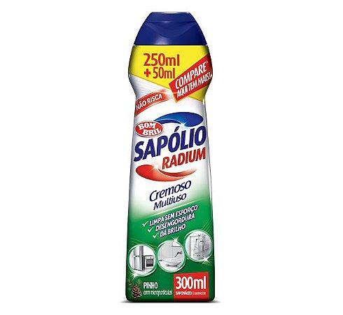 SAPÓLIO RADIUM CREMOSO PINHO - 300ML