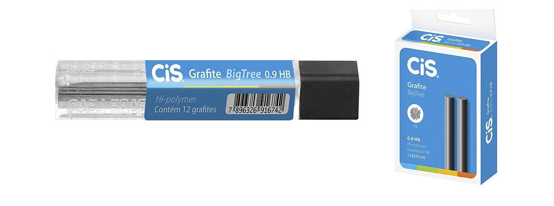 GRAFITE BIG TREE 0.9MM HB C/12 GRAFITES - CIS