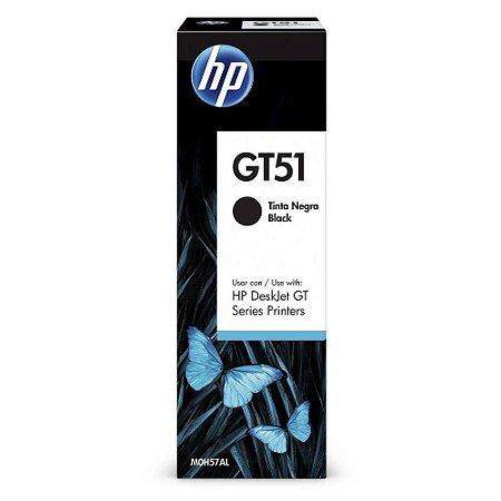 GARRAFA DE TINTA HP GT51 PRETO - 90ML