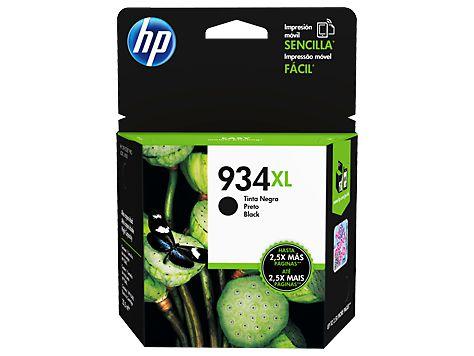 CARTUCHO HP 934XL C2P23AB PRETO - 25,5ML