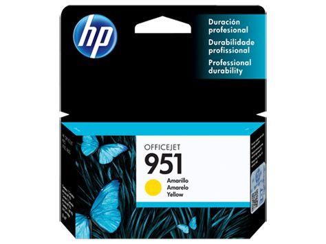 CARTUCHO HP 951 CN052AB AMARELO - 8ML