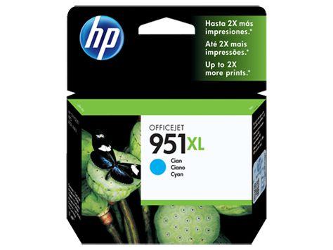 CARTUCHO HP 951XL CN046AB CIANO - 17ML