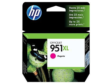 CARTUCHO HP 951XL CN047AB MAGENTA - 17ML
