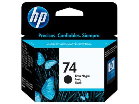 CARTUCHO HP 74 CB335WB PRETO - 5,5ML