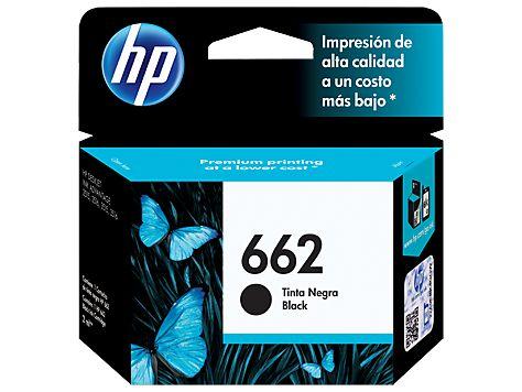 CARTUCHO HP 662 CZ103AB PRETO - 2ML