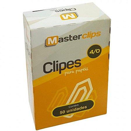 CLIPES 4/0 GALVANIZADO C/50 - MASTERCLIPS