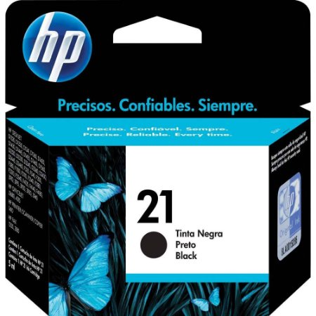 CARTUCHO HP 21 C9351AB PRETO - 7ML
