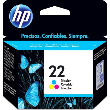 CARTUCHO HP 22 C9352AB COLORIDO - 6ML
