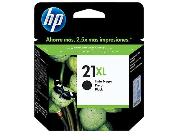 CARTUCHO HP 21XL C9351CB PRETO - 16ML