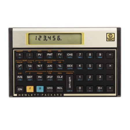 CALCULADORA FINANCEIRA 12C GOLD - HP