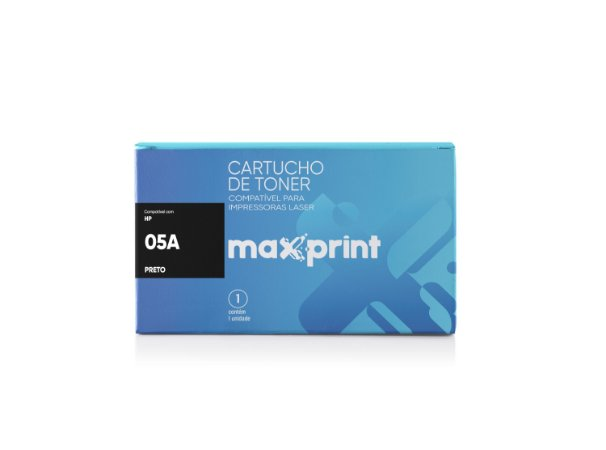 TONER COMPATÍVEL 05A CE505A PRETO - MAXPRINT