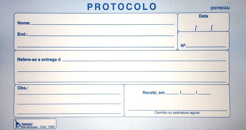 PROTOCOLO ENTREGA C/100 FLS - TAMOIO