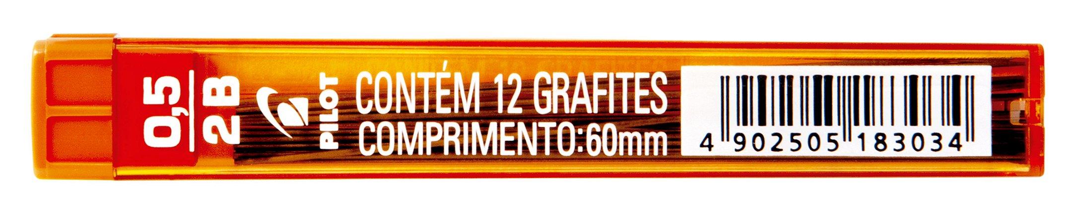 GRAFITE 0.5MM 2B C/12 GRAFITES - PILOT