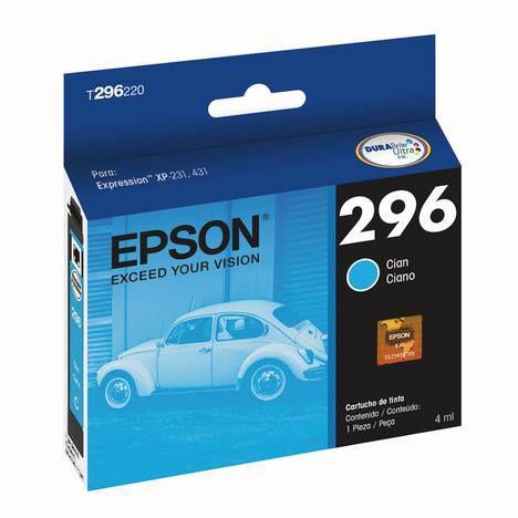 CARTUCHO EPSON T296220BR CIANO - 4ML