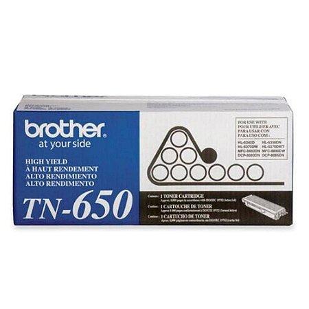 TONER BROTHER TN-650 PRETO - TN650BR