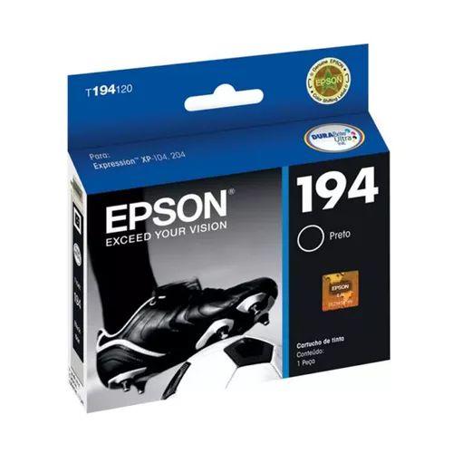 CARTUCHO EPSON T194120BR PRETO - 4ML