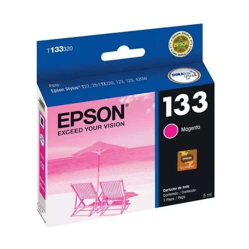 CARTUCHO EPSON T133320BR MAGENTA - 5ML
