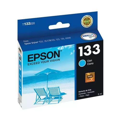 CARTUCHO EPSON T133220BR CIANO - 5ML