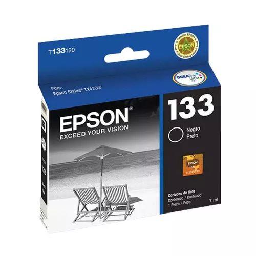 CARTUCHO EPSON T133120BR PRETO - 7ML