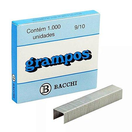 GRAMPO 9/10 GALVANIZADO C/1000 UNIDADES - BACCHI