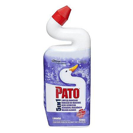 PATO LIMPADOR SANITÁRIO LAVANDA - 500ML