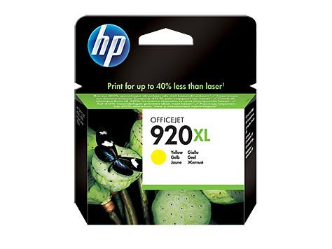 CARTUCHO HP 920XL CD974AL AMARELO - 7,5ML