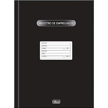 LIVRO REGISTRO DE EMPREGADO CAPA DURA 100 FOLHAS - TILIBRA