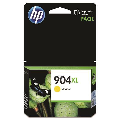 CARTUCHO HP 904XL T6M12AB AMARELO - 9,5ML
