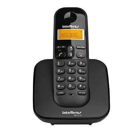 TELEFONE SEM FIO DIGITAL TS 3110 - INTELBRAS