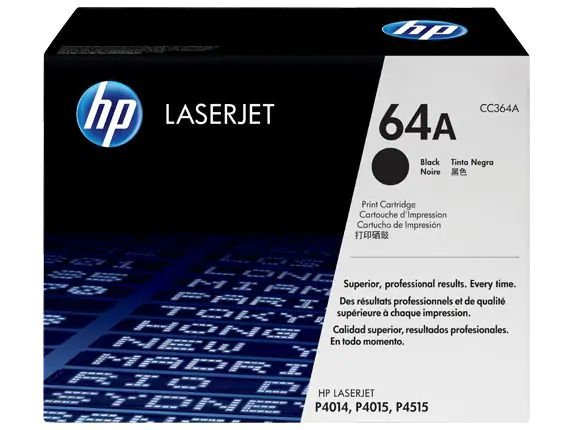 TONER HP 64A PRETO - CC364AB