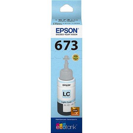 GARRAFA DE TINTA EPSON T673520-AL CIANO CLARO - 70ML