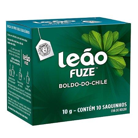 CHÁ BOLDO-DO-CHILE C/10 SAQUINHOS - LEÃO FUZE